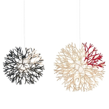 Artistic personality coral branches light snow ball branch restaurants lamp single head bar chandelier promotion
