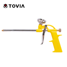 TOVIA Free Shipping Foam Expanding Spray Gun Sealant Dispensing PU Insulating Applicator Tool Spray  Foam Gun(China)