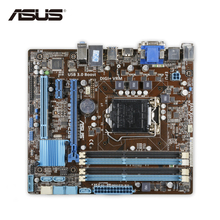 Original Used Asus B75M-PLUS Desktop Motherboard B75 Socket LGA 1155 i3 i5 i7 DDR3 32G SATA3 USB3.0 uATX 100% Fully Test