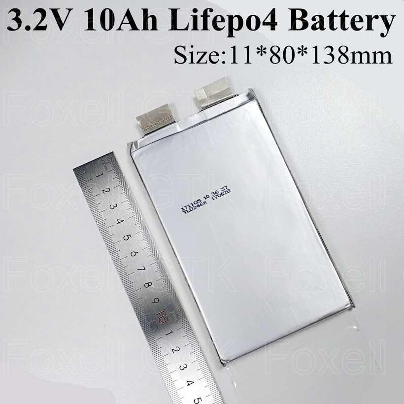 4pcslot lifepo4 3.2v 10Ah cell 3.2v 10ah lifepo not lithium lipo 50A for pack diy 12v 10ah power storage motor + free shipping (5)