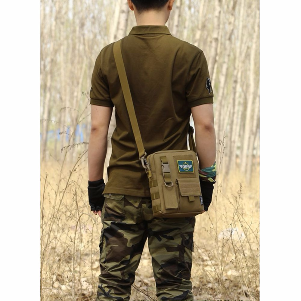 Camping & Hiking Brave Waterproof Military Tactical Sling Chest Bag Travel Hiking Molle Cross Body Messenger Backpack Shoulder Bag Casual Day Pack Climbing Bags