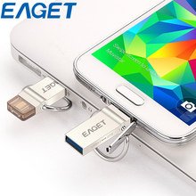 Original EAGET V90 High Speed USB 3.0 16gb 32gb 64g Flash Drive MicroUSB OTG 16GB 32GB 64GB Portable Metal Storage Memory Stick