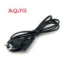 EU  AC Power Cord cable For laptop adapter lead Adapter AC Cable 2 prong EU  Plug 1.5M For computer power  Laptop AQJG