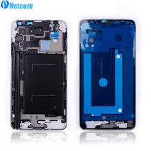 Netcosy For Samsung Galaxy note3 / Note 3 N9005 Mid Middle Frame Housing Plate Bezel Cover Case Replacement Parts Repair Part(China)