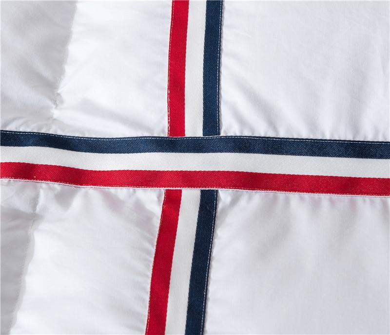 Goose Down Soft Comforter, Bedding Filler Set, Duvets, Throw Blanket Quilts 20