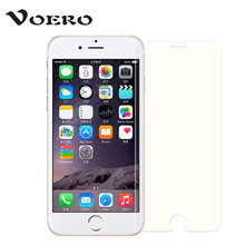 VOERO Tempered Glass for iPhone 8 7 6 6s Plus X 5 5s 5se Tempered Glass For Samsung Galaxy S7 S6 S5 S4 Screen Protector Film(China)