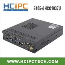 HCiPC B105-4 HCO1037U,C1037U Mini BOX PC, C1037 Mini Barebone,C1037 mini computer,Mini BOX PC,Industrial PC,free shipping