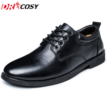 New Arrival High Quality Genuine Leather Men Shoes Lace-up Casual Business Shoes Men Wedding Shoes Fashion Dress Shoes Size39-44