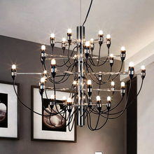 Designer Chandelier Light Modern Tree Branch Light Living Room Gina Sarfatti Pendant Chandelier Villa Lamp