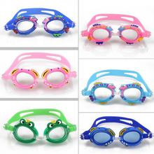 Cartoon Kids Children Boys Girls Goggles Summer Anti Fog Swimming Glasses