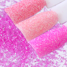 1 Box 10ml Pink Shining Nail Glitter Powder Sheets Tips Paillette Nail Sequins Nail Art Decorations