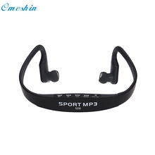 Adroit Wireless Card FM Stereo Radio Function MP3 Sports Headset Earphone MAR20