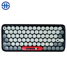 Lofree Dot Bluetooth Mechanical Keyboard Wireless Backlit Round button for ipad/Iphone/Macbook/PC computer/Android Tablet(China)