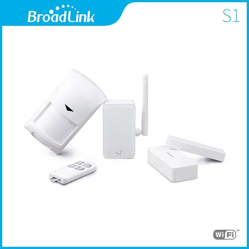 Broadlink S1C S1 SmartONE PIR Motion Door Sensor,Smart Home Automation Alarm & Security Kit Wifi Remote Control Via IOS Android