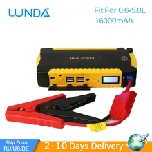 LUNDA 19B Car jump starter Great discharge rate Diesel power bank for car Motor vehicle booster start jumper battery(Hong Kong)