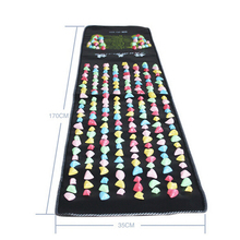 175*35Cm Colorful Plastic Foot Massage Pad Medialbranch Plastic Stone Pad Health Road Fitness Walking Carpet Acupuncture Massage