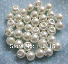 100pcs 8mm Mother of Pearl Buttons Round Button Craft Buttons Bulk Scrapbooking Products DIY Accessories sk0221