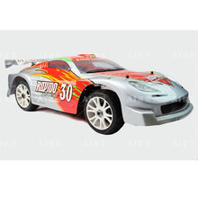 Free shipping Nitro Touring Cars Hispeed Rapido 1/8th scale nitro powered rally racing car R/C Car HSP 94086(China)