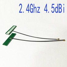 2.4Ghz 4.5dbi internal antenna IPEX OMNI wifi aerial for IEEE802.11b/g/n WLAN System  Bluetooth #2 antena wifi router