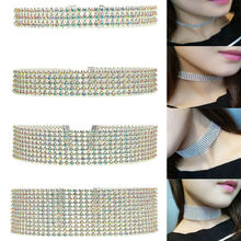 New Europe Women Beam Neck Silver Jewelry Choker Sequin Collars Vintage Punk Party Gifts Personality  Necklace Collier Femme