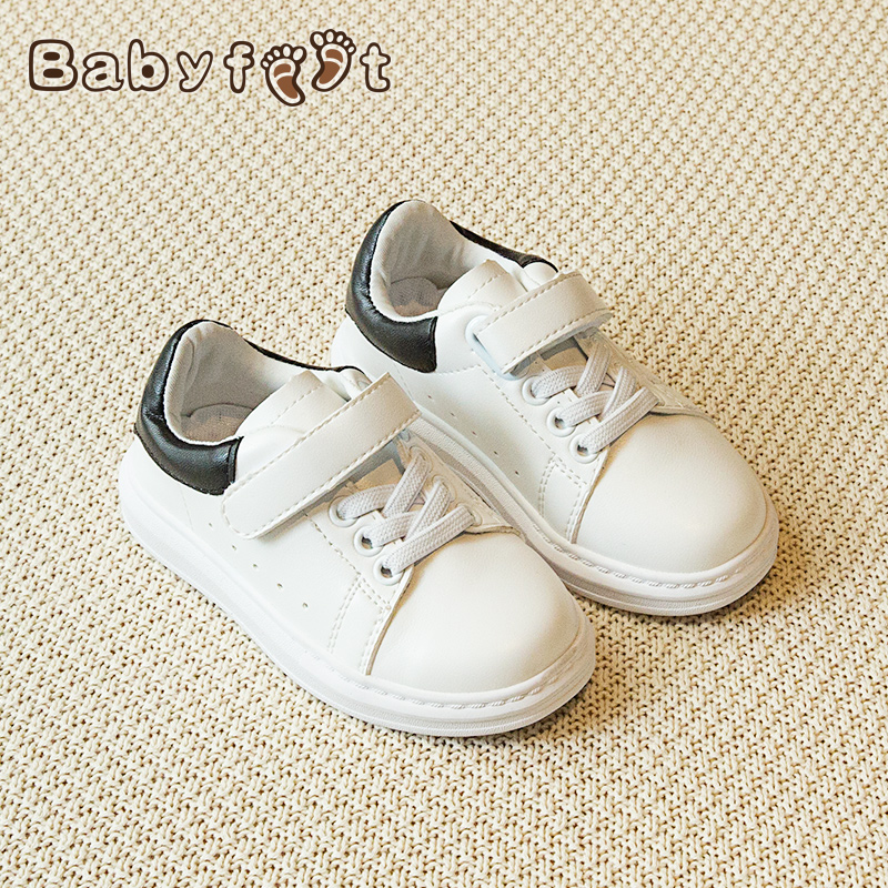 Babyfeet brand low top waterproof tenis sport infant children casual loafers girl White Shoes leather boys sneakers toddle shoes<br>