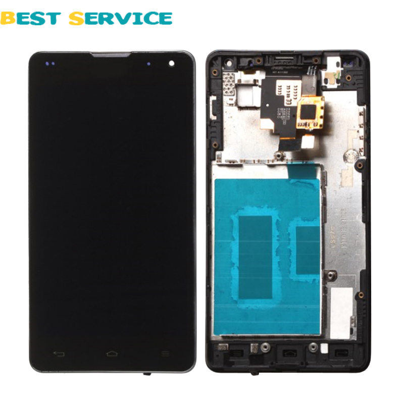 For LG Optimus G E973 E975 LCD Screen + Touch Screen Digitizer with Frame Assembly + Tools Free shipping<br><br>Aliexpress