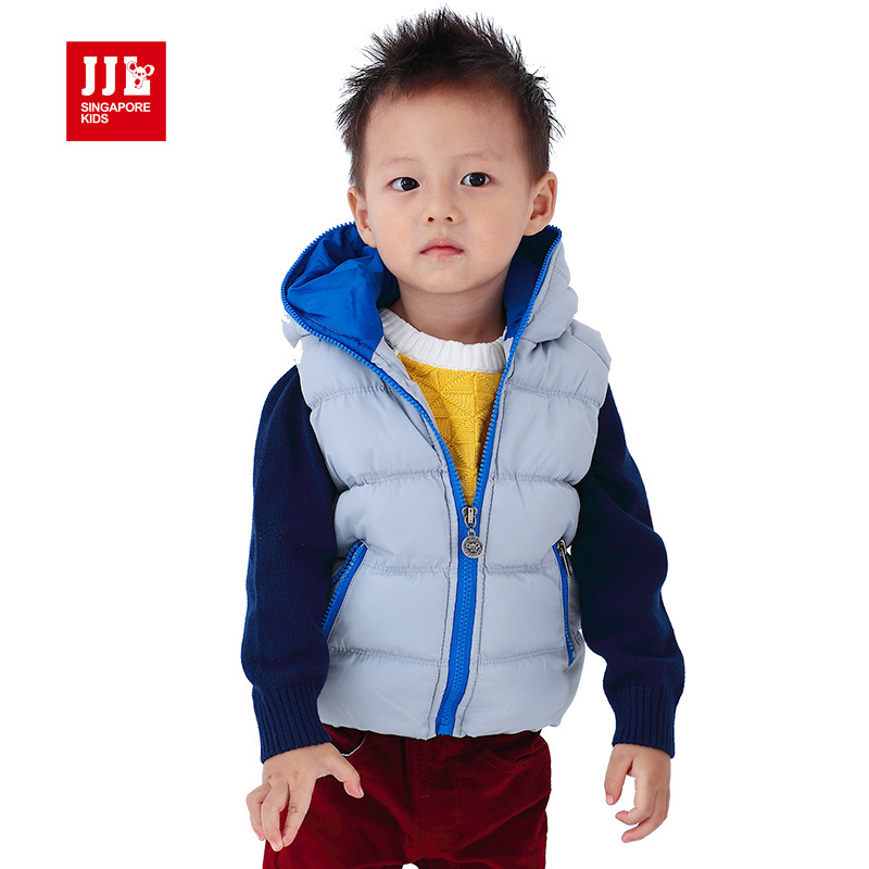 babys boys fashion zipper hooded waistcoat warmth and comforable outerwearОдежда и ак�е��уары<br><br><br>Aliexpress