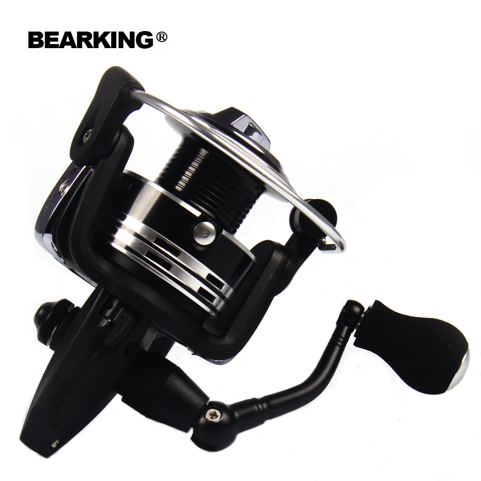 Bearking 2017 New Mela Super Light Weight Graphite Body Max Drag 15KG Carp Fishing Reel Spinning Reel Free Shipping<br>