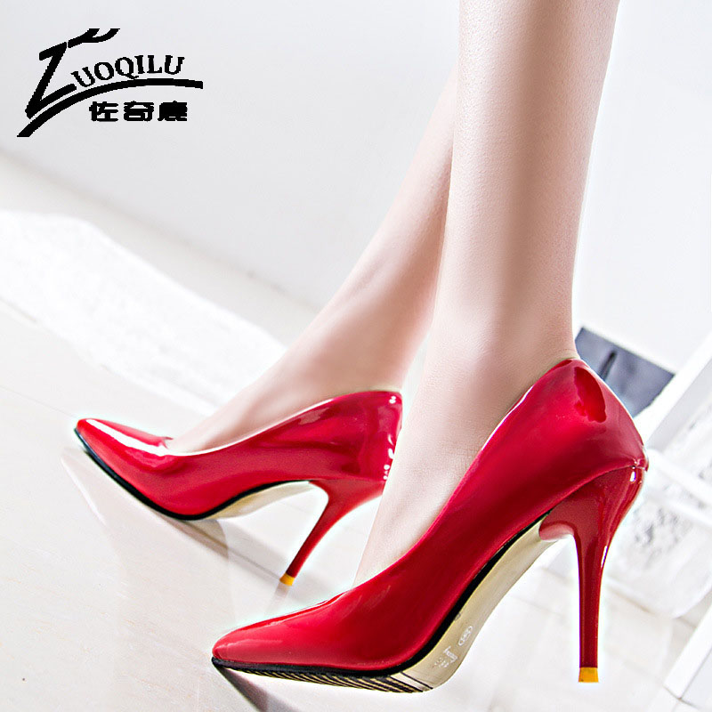 2017 Womens shoes with heels wedding shoes woman gold silver high heels pumps sexy women shoes white pumps escarpins femme<br><br>Aliexpress