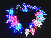 Merry Christmas lights RGB Colorful new year wedding holiday garden lamps 5M 220V decorate string lights