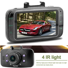 "2.7"" LCD Car DVR Camera Mini GF100 Touch Button 1080P 170 Wide Angle 4X Zoom G-sensor Night Vision"