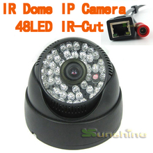 1MP/1.3MP 720P/960P H.264 Onvif 2.0 48LED With IR-Cut Filter Indoor IP Camera Support P2P Smart Phone View