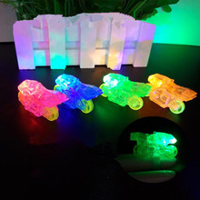 2018 LED Finger Rings Glowing Dazzle Flashing Motorcycle Finger Light Emitting Lamps Birthday Glow Party Christmas New Year(China)