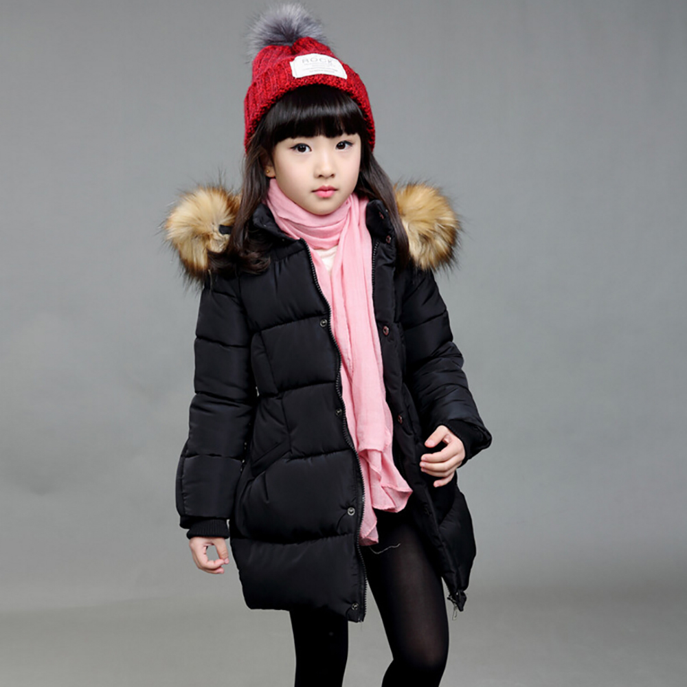 2016 new winter childrens down jacket big virgin girls Korean fashion casual hooded down jacket &amp;coat winter jacket for girls  Одежда и ак�е��уары<br><br><br>Aliexpress