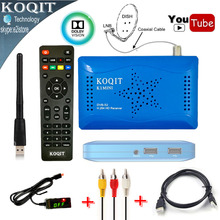 2017 Newest HD DVB-S2 1080P Dual USB Digital Satellite Receiver Support IKS Cccam Gscam & Power Vu Youtube Wifi Set Top Box(China)