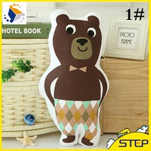 2016 Hot Sale Free Shipping 50cm Standing Brown Teddy Bear Plush Toy Cute Simulation Bear Plush Pillow Baby Toys ST184
