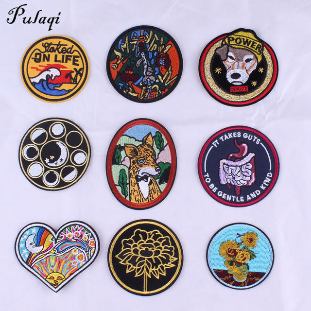Pulaqi Stranger Things DIY Iron On Patch Embroidery Applique Ironing  Clothing Sewing Supplies Decoration Badge Sew 9e23c1e394d8