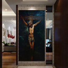 HD Print Jesus Christ Oil Painting on canvas art print home deco wall art picture living room decor painting(China)
