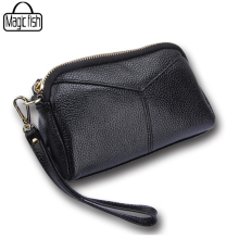 Genuine Leather Bag Women Clutches Casual Female Tote Women Bags Versatile Women Messenger Bags Mini Cross Body Bags A263/l(China)