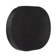 FM Soft Natural Black Bamboo Sponge Beauty Facial Wash Cleaning Cosmetic Puff Charcoal black Hot Sale
