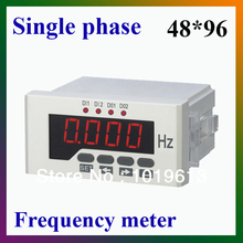 Single phase frequency meter digital counter LED display intelligent meter