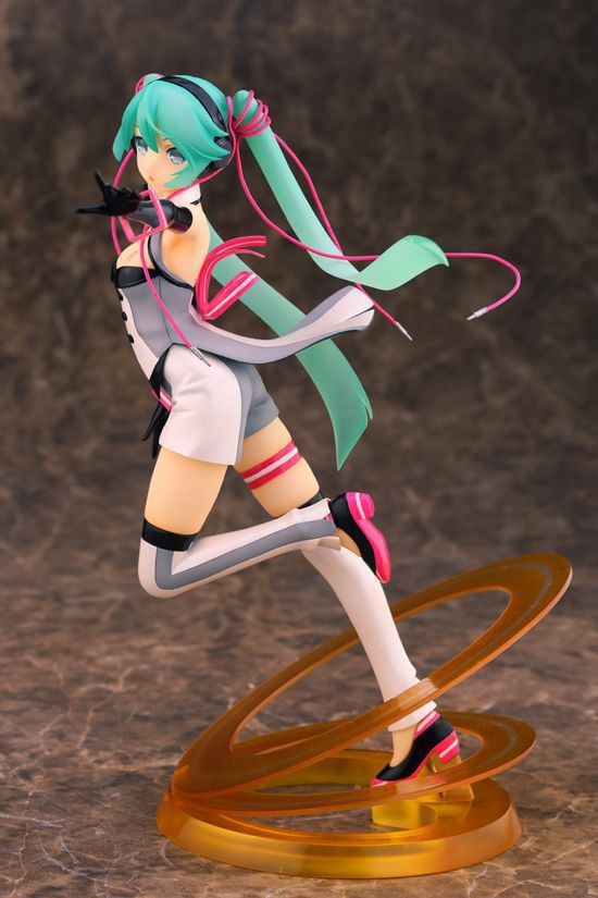 New Hatsune Miku Nijigen Dream Fever ver. 1/7 Complete PVC Action Figure Anime Cartoon Character NO RETAIL BOX (Chinese Version)<br>