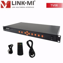 TV06 2x2 3x2 Video Wall Controller USB HDMI VGA AV TV processor 6 screen splicing For LED/LCD Display TV rotated 180 degrees