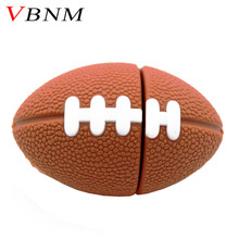VBNM mini Rugby USB Flash Drive American Football pen drive 4gb 8gb 16gb 32gb sports pendrives memory stick free shipping(China)