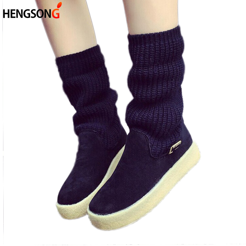 2017 Winter Women leather Boots warm Snow Boots Women Ankle Boots Heels lace up boot martin platform shoes Winter Shoes OR643151<br><br>Aliexpress