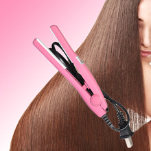 Professional Mini hair straightener Iron Pink Ceramic Electronic Hairs Straightening styling tools Home Use Best selling