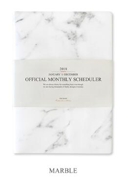 Big Size Official Monthly Scheduler 21.4*30.4cm Monthly Plan+Free Note 64P School Office Supplies Free Shipping<br>