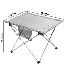 Aluminium Alloy Folding Table Travelling Camping Picnic Barbecue Foldable Table Outdoor Portable Tables BHU2