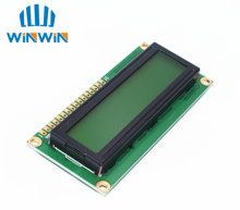 LCD 1602 (yellow-green screen) 5V 1602 LCD display with backlight
