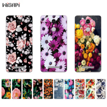 Buy Xiaomi Redmi Note 4 4X Silicone Phone Case Redmi Note3 Back Cover Thin Hongmi Note2 TPU Shell Retro Flowers Pattern for $1.39 in AliExpress store